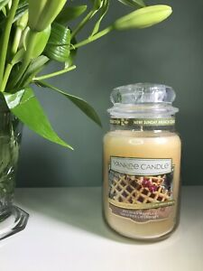 Yankee Candle Belgian Waffles Large Jar 623g Brand New Genuine rare discontinued