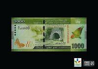 Sri Lanka 1000 RUPEES Beauty Bank Note - Original UNC -CEYLON Paper Note RS.1000