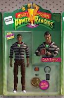 MIGHTY MORPHIN POWER RANGERS #18 ACTION FIGURE VARIANT COVER