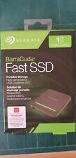Seagate Barracuda Fast SSD 1TB External Solid State Drive Portable –STJM1000400