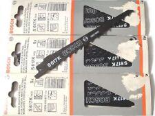 15 x ORIGINAL BOSCH Hoja Sierra Reciprocante S 617K de 150mm S617K NUEVO