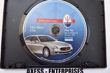 05 06 07 08 09 Maserati Quattroporte Navigation CD Map # 6: KY MD NY OH PA TN WV