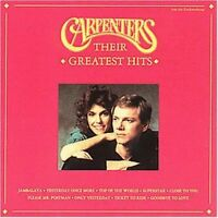 Carpenters Their greatest hits (20 tracks, 1993) [CD]