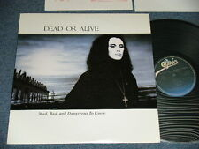 DEAD OR ALIVE Japan 198 NM LP MAD, BAD AND DANGEROUS TO KNOW