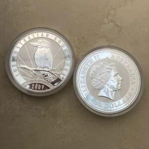 1 KG SILVER KOOKABURRA COIN BULLION from Australia's PERTH MINT 2009