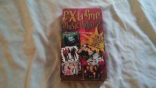 Extreme Music Video 2, VHS tape 2000 Skillet, Smalltown Poets,DCtalk,PAX217,Raze