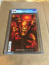 The Batman who laughs  6 CGC 9.6