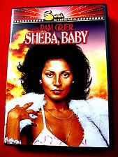Sheba, Baby DVD Mint OOP Pam Grier Austin Stoker D'Urville Martin Soul Cinema
