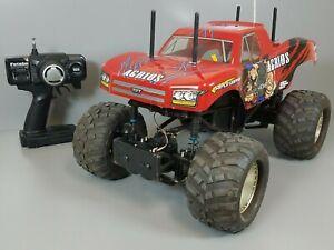 Custom Tamiya RC 1/10 Agrios 4x4 Monster Truck TXT-2 +Single 65T Motor +ESC