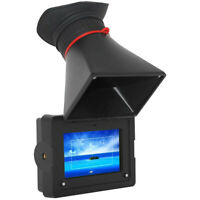 """Feelworld E-350 3.5"""" Electronic Viewfinder 800x480 HDMI EVF Field Camera Monitor"""