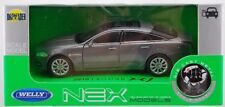 WELLY 2010 JAGUAR XJ SILVER 1:34 DIE CAST METAL MODEL NEW IN BOX