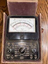 Vintage Simpson 261 Volt Ohm Milliammeter Aka Multimeter
