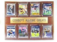 Dallas Cowboys All time Greats Holz Wandbild 38cm,Plaque NFL Football