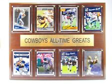 Dallas Cowboys all Time Greats Wood Wall Picture 15in, Plaque Nfl Football