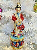 CHRISTOPHER RADKO JOYFUL NIGHT SNOWGLOBE #2012962 CHRISTMAS BRAND NIB SAVE$ F//SH