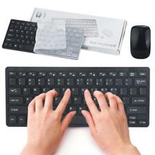 TASTIERA  MOUSE  WIRELESS 2.4GHz PER PC COMPUTER WIFI KEYBOARD SENZA FILI