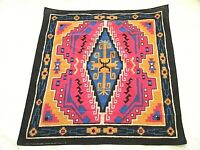"Vintage Southwest Pattern Bandanna Scarf-50%Poly/50%Cotton-USA-22""-Wamcraft"