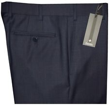 $325 NEW ZANELLA NORDSTROM DEVON DARK BLUE WEAVE SUPER 120'S WOOL DRESS PANTS 33