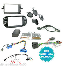 CTKFT02 Car Stereo Double Din Radio Replacement Fitting Kit For FIAT 500 2007>