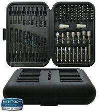 100 Piece Century Tool #88100 High Speed Steel Drill & Drive Bit Set Case Kit