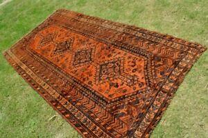 Antique Tribal carpet Natural Dye Carpet