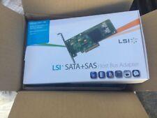 LSI SAS 9201-16e 6Gb/s 16 Puertos Sata + adaptador de bus de host SAS LSI00276 Nuevo