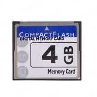 High Speed 4GB Storage Capacity Compact Flash CF Memory Card CF Card For Cameras