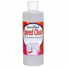 Speedball Speed Clean Screen Printing Mesh Cleaner Filler Remover 473ml