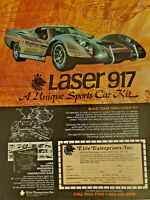 Elite Enterprises Laser 917 One-Page 1979 Vintage Print Ad Approx. 8x11in