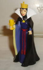 DISNEY SNOW WHITE EVIL QUEEN HOLDING GLASS CHALACE PVC FIGURE CAKE TOPPER