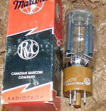 MARCONI 5R4G NOS NIB PERFECT TUBE * HANGING GETTER / FILAMENTS 274B REPLACEMENT