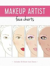 NEW Makeup Artist Face Charts (The Beauty Studio Collection) by Gina M Reyna