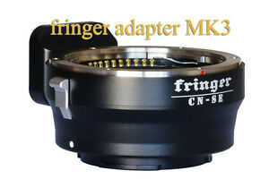 Fringer Contax N/645 - Sony E (A7r3, A9, A7r2, A7m2, etc.) full auto adapter Mk3