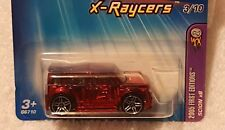HOT WHEELS 2005  FIRST EDITIONS X-RAYCERS PR5s SCION XB #053 #3/10 Red