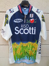Maillot cycliste RISO SCOTTI MG BOYS AIWA maglia ciclismo cycling shirt 6 XXL