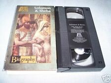 Biography: Solomon & Sheba (1996, VHS)