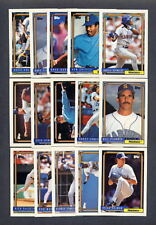 1992 Topps Seattle Mariners TEAM SET (31) w/ Traded