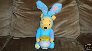 Winnie The Pooh Easter Bunny Applause Plush Talking
