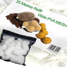PVA mesh 35 metre refill & white PVA nuggets