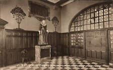 Islington. Owen's School Entrance Hall. Card by P.A. Buchanan & Co.