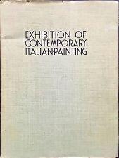 ANONIMO, Exhibition of Contemporary Italian Painting. 1934