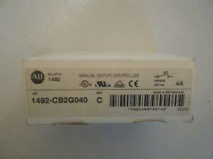 ALLEN-BRADLEY 1492-CB2G040 Series C 4A 2P Manual Motor Controller