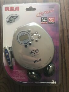 New Vintage RCA Portable CD Player RP2441 ESP Extreme  Remote NIP NOS Sealed