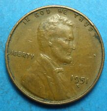 1951-S  Lincoln Head Cent        '