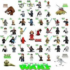 Minifigures Star Wars Acessories For Lego JABBA DARTH VADER KYLO YODA OBIWAN HAN