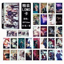 30pcs Set KPOP BTS Bangtan Boys New Album 【WINGS 】Lomo Card Gift Photo Poster