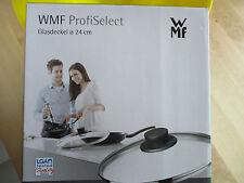 WMF ProfiSelect Deckel Topfdeckel 24 cm NEU / OVP hitzebeständiges Glas