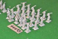 25mm roman era / castings - gauls 24 figures - inf (44483)