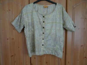 Firefly Totnes Top Made in India Short Sleeve Original Hippy