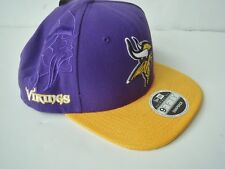 buy popular 4117c 78e0c NEW NEW ERA 9Fifty Minnesota Vikings Football Baseball Cap snapback  31.99